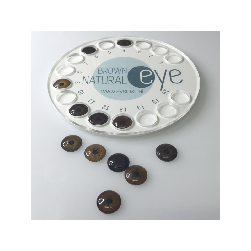 NATURAL EYE DISC SIMPLE EYE TEST IRIS ORIGINAL